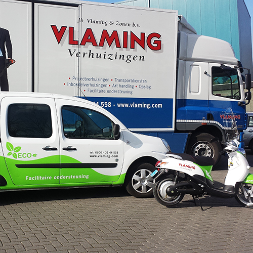 Verhuisbedrijf Vlaming - Verhuisfirma Amsterdam - Verhuizing Amsterdam