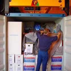 Containeropslag Verhuisbedrijf Vlaming