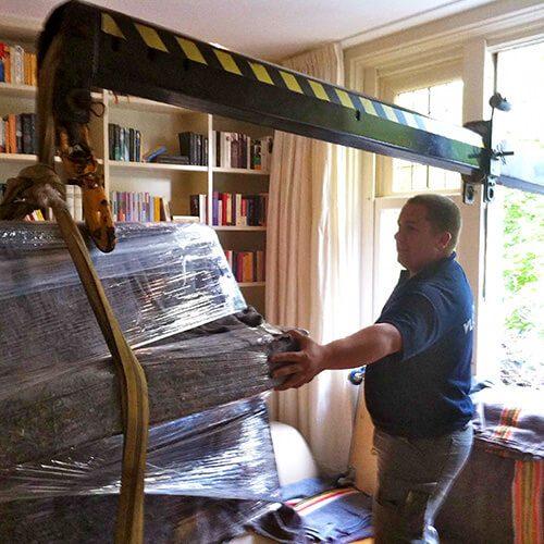 Piano Verhuizen Amsterdam 2 Door Vlaming Verhuizingen