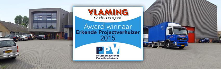 Award winnaar Erkende Projectverhuizers