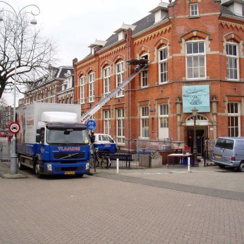 Verhuisauto Amsterdam Huren